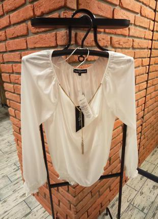 Блуза блузка белая sweet revenge