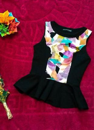 Шикарная блуза с баской atmosphere