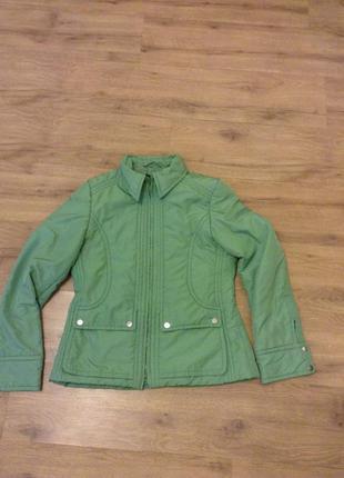 H&m  куртка зеленая
