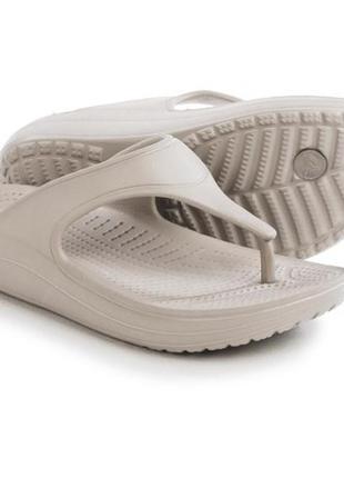 Кроксы женские crocs 11us sloan platform flip-flops
