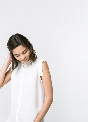 Белая блуза рубашка