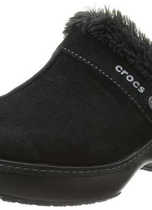 Сабо crocs р.6m us стелька 23,5см women's cobbler leather clog