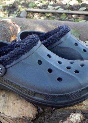 Crocs кроксы с утеплителем 39 р-р