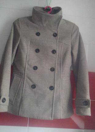Полупальто короткое пальто h&m