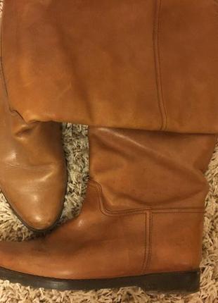 Осенние ботинки из натуральной кожи