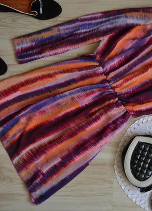 Плаття rise шифон радуга