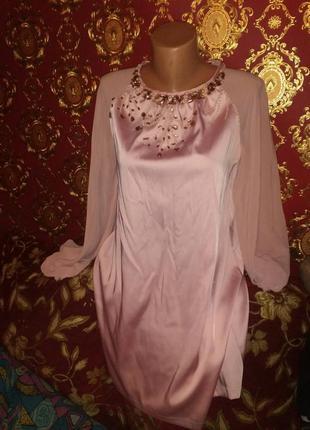 Платье шикарное в камнях rise