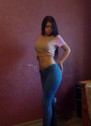 Крутые джинсы pull&bear
