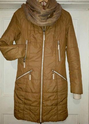 Удлиненная куртка на осень