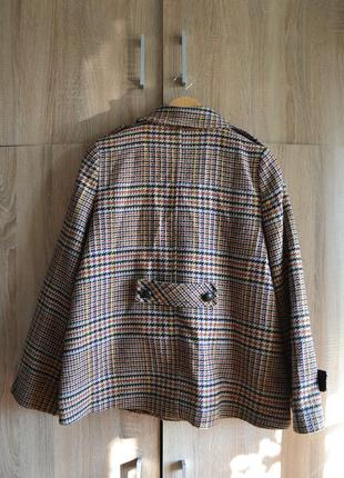 Клетчатое винтажное пальто дафлкот atmosphere4