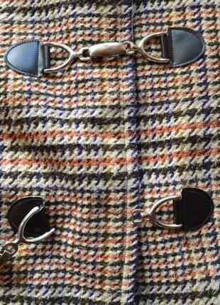 Клетчатое винтажное пальто дафлкот atmosphere3