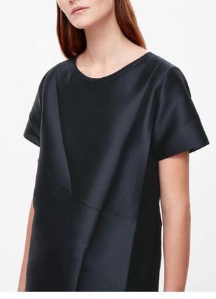 Новая стильная блузка шелк/полиэстер от cos
