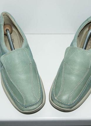 Туфли мокасины rohde, р. 37-37,5.  германия. кожа