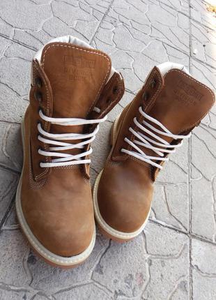 Ботинки коричневые зимние турция