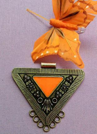 Подвеска кулон ожерелье этно stradivarius