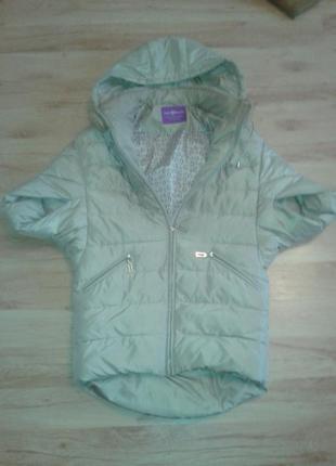 Куртка - пуховик-манто snow wight  beauty