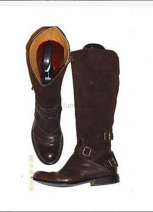 Сапоги кожаные riding boots полностью кожаные marks&spe.ncer 38 р