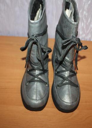 Жіночі зимові чобітки (сапоги) дутіки,луноходи, уггі crane (німеччина)3