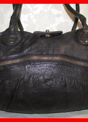 Объёмная сумка 100% натуральная кожа~top shop~