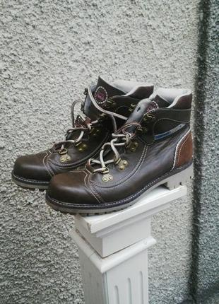Ботинки(кож.зам)на шнуровке, esprit