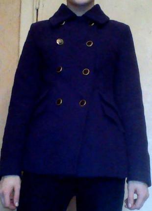 Чудесное синее пальто