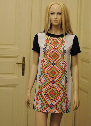 Новое платье nenka платье в украинском стиле миди платье