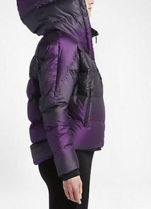Пуховик модели oversize cocoon, nike uptown 550 jacket, xs, s, m, l, xl1