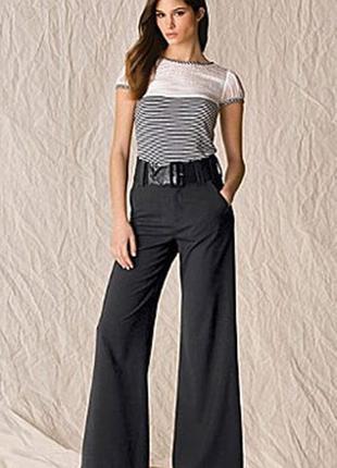 Модные женские широкие брюки