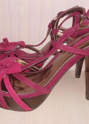 Новые туфли, босоножки next р-р (6)39, кожа, италия, оригинал