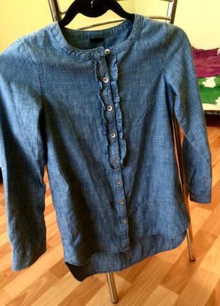 Джинсовая рубашка dorothy perkins