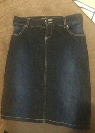 Юбка джинсовая карандаш