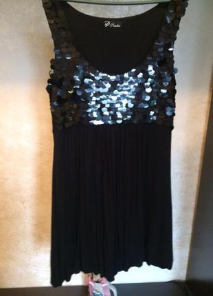 Красивое нарядное вечернее платье