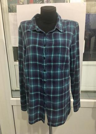 Рубашка в клеточку mango