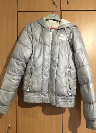 Курточка с капюшоном от puma