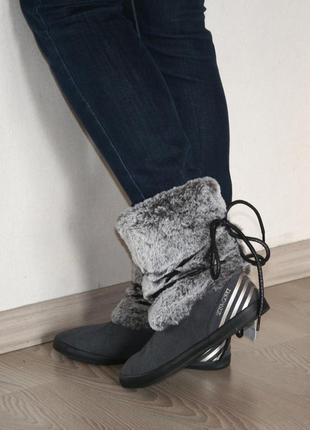 Чоботи adidas neo winter boot, колекція selena gomez 100% оригінал, виробництво в'єтнам