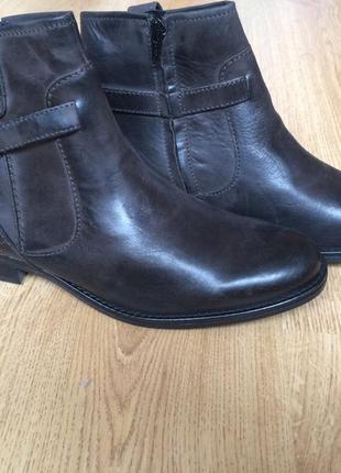 Кожаные ботинки s&g