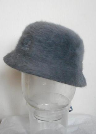 Вязаная теплая шапка женская трикотажная шляпа