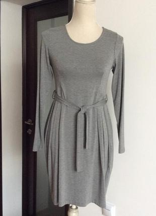 Northland  трикотажное серое платье