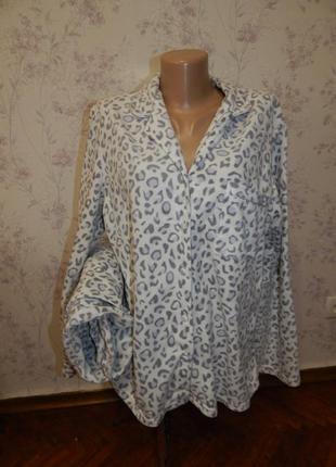 F&f пижама флисовая рубашка + штанишки р16-18