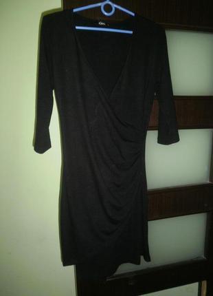 Трикотажное платье миди