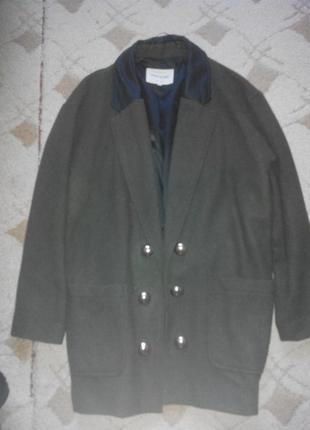 Стильное пальто-пиджак оверсайз бойфренд oversize