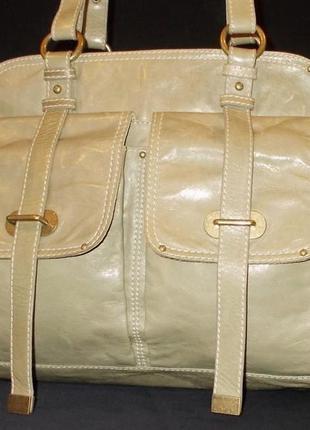 Очень большая сумка *cynthia rowley* натуральная кожа
