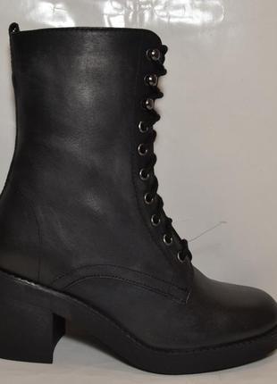 """Р. 38 германия, """"topshop"""",100%натуральная кожа! добротные, комфортные, стильные сапоги ботинки"""