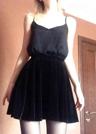 Велюровая юбка от tally weijl