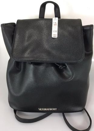 Красивенный фирменный рюкзак victoria`s secret из эко-кожи.