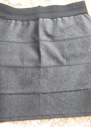 Серебристая юбка tally weijl