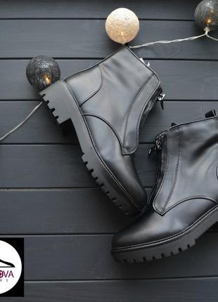 Актуальные, зимние, утепленные  ботинки