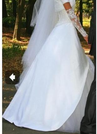 Свадебное платье для худенькой невесты.дизайнер оксана муха