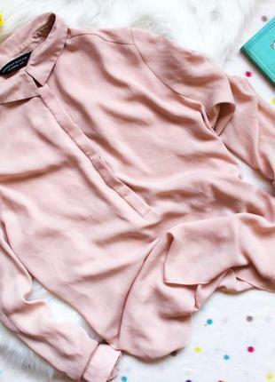 Пудровая блуза dorothy perkins