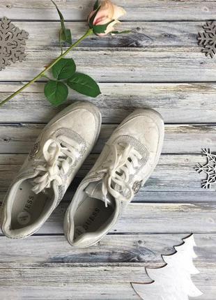 Оригинальные кроссовки guess с блестящим декором     sh4911    guess